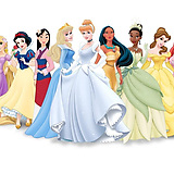 Most of the Disney Princess lineup.
